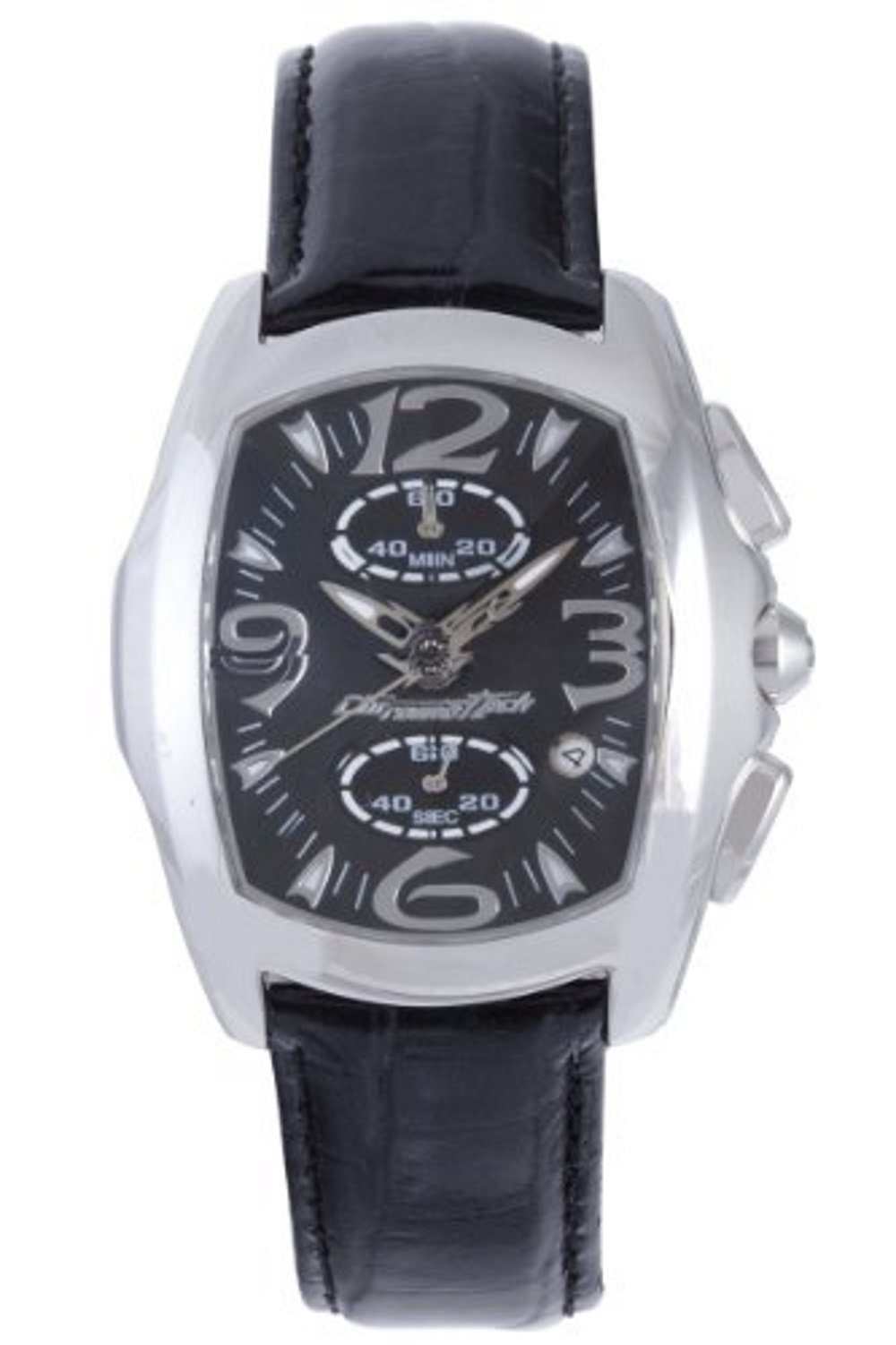 Chronotech CT.7895M-92 Mens Black Dial Watch by Chronotech