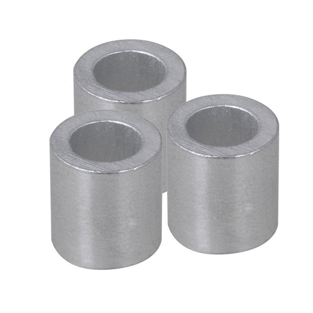 cnbtr 5 mm rund Metallkappen Remasuri Aluminium Crimpen Schlaufe ...