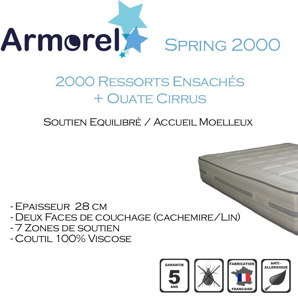Armorel mas20100Spring 2000Matratze weiß