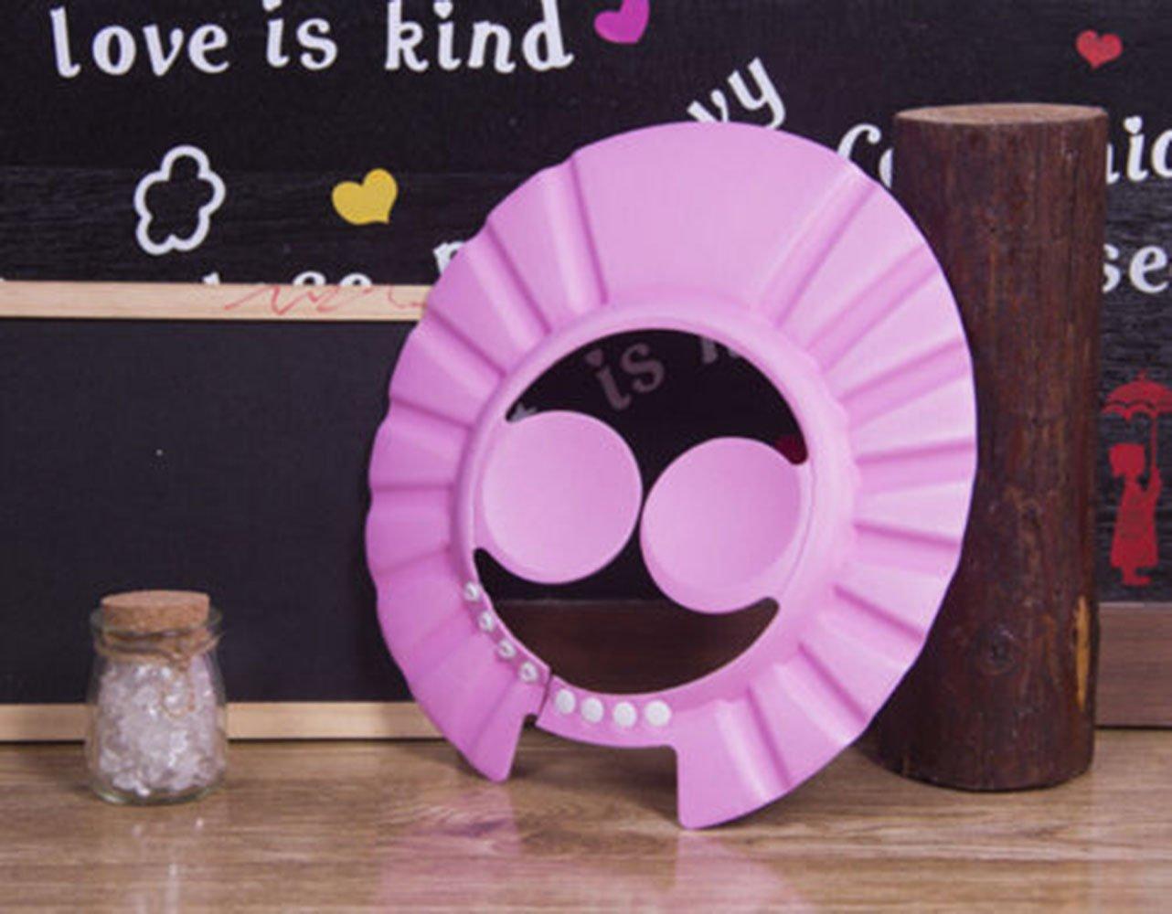 DouTree Safe Shampoo Shower Bathing Protection Bath Cap Soft Adjustable Visor Hat for Toddler Baby