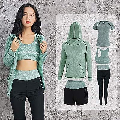 Mallas atléticas para mujeres Conjunto de pantalones de chándal de ...