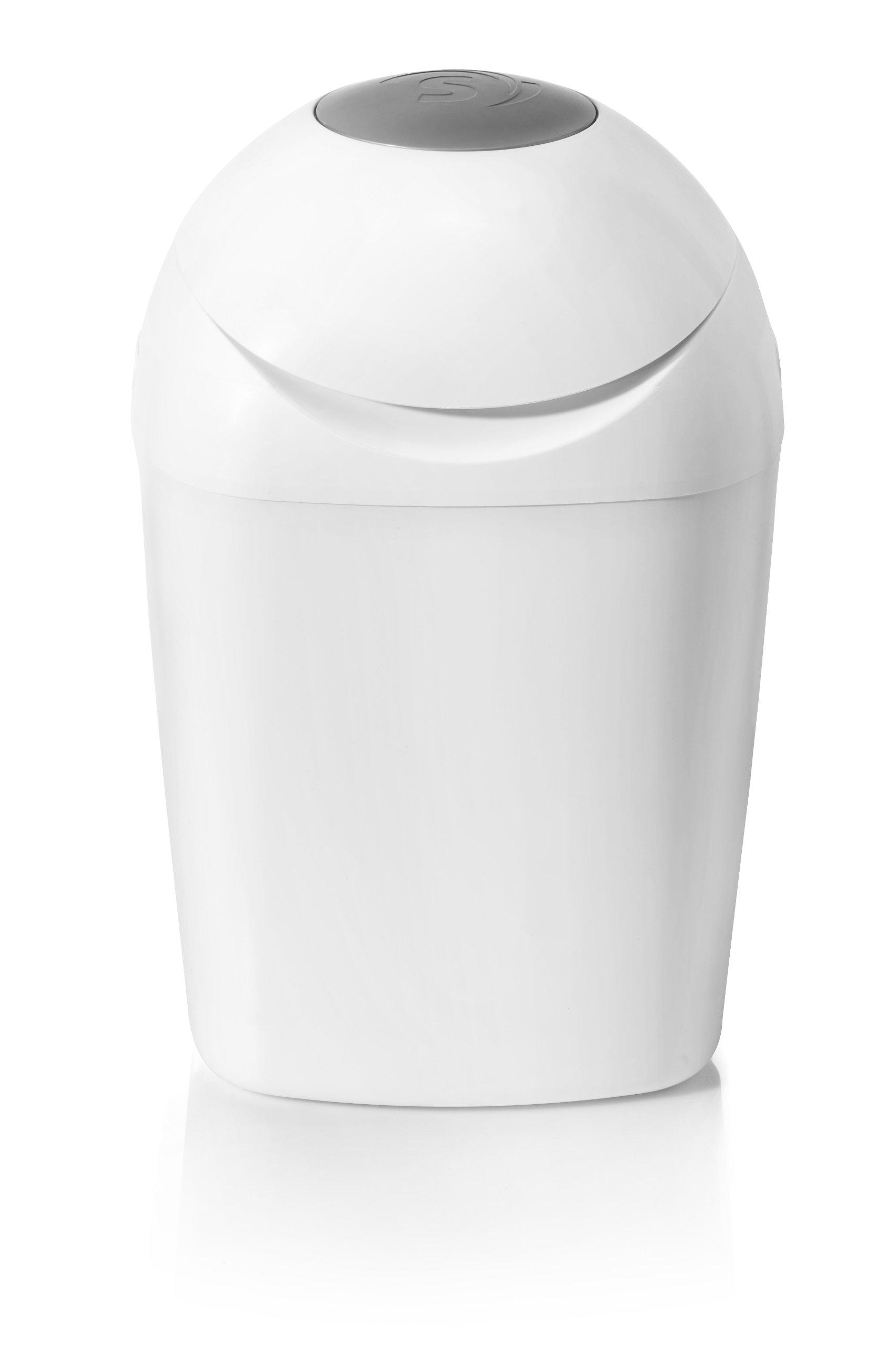 Sangenic 25032 0001 - Cubo para pañales con sistema de enrollado individual antiolores con cierre hermético product image