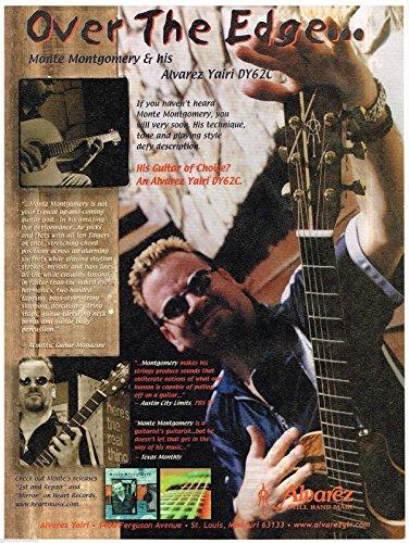 Alvarez Handcrafted Guitars - Alvarez Yairi DY62C - Monte Montgomery - 2000 Print ()