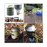 ECVILLA Kipoo Camping Mess Kit and Cookware Set