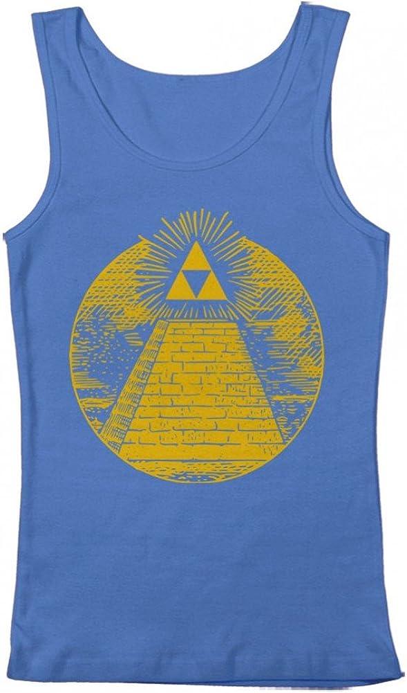GEEK TEEZ Triforce Illuminati Pyramid Men's Tank Top