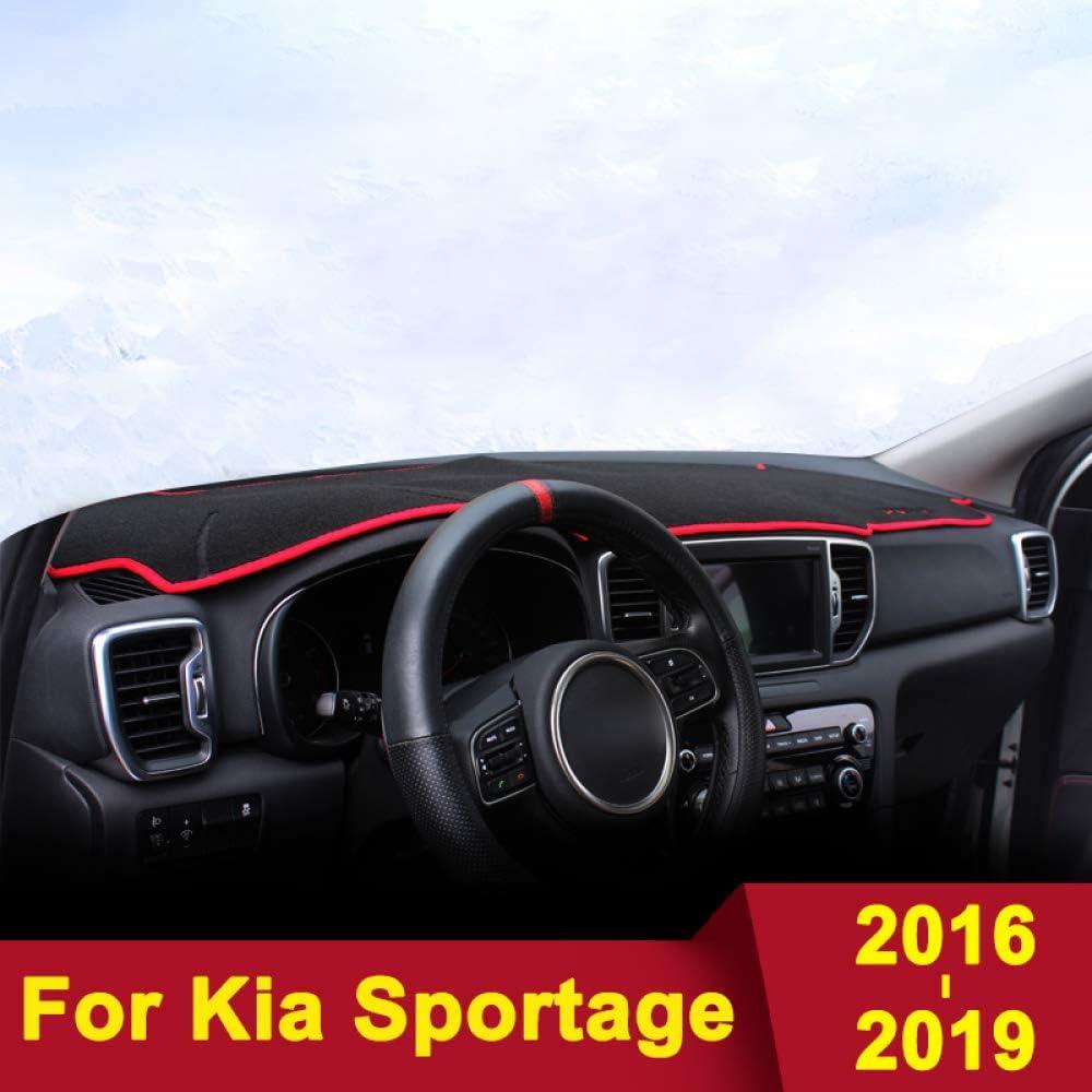 JNSMQC Tappeto per cruscotto cruscotto cruscotto Auto cruscotto./per Kia Sportage 2016 2017 2018 2019