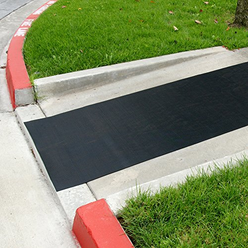 Rubber Cal 03 167 W Rc 06 Ramp Cleat Non Slip Outdoor Rubber Floor Mats 1 8 Quot Th 689738245398 Ebay