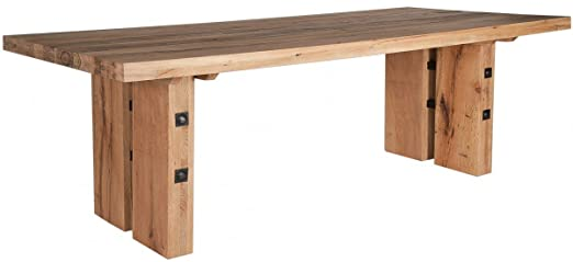 SIT-Möbel Barra Sólida Mesa de Comedor Roble 280 x 110 cm: Amazon ...