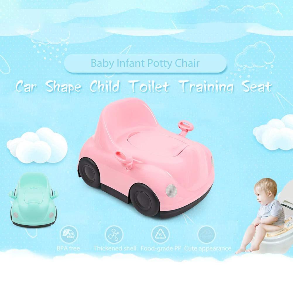 Baby Kind T/öpfchen,Stuhl Auto Form,WC//Klo,Pink//Blue