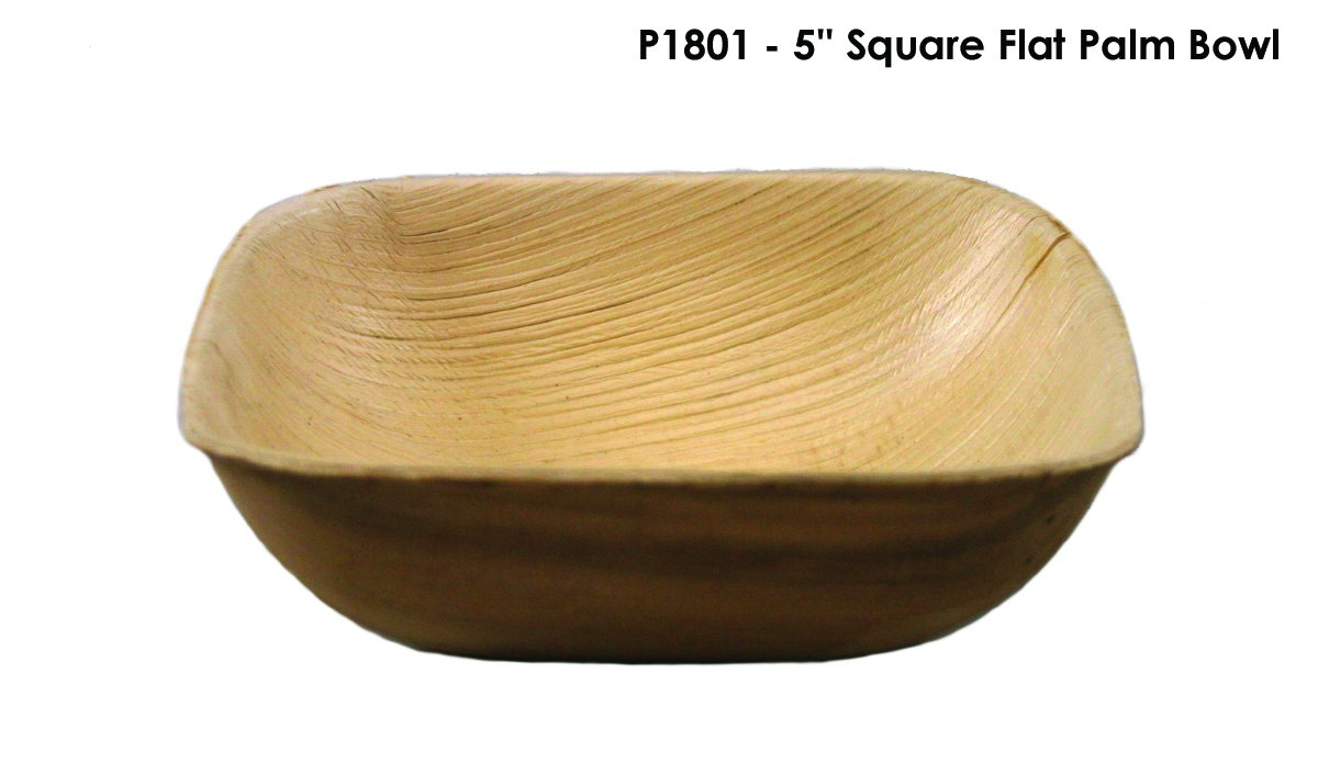 Bamboo Studio P1801 Palm Bowl, Palm, Natural (Pack of 100)