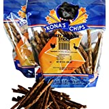 KONA'S CHIPS 2 Pack Turkey and Duck Sticks 8 oz Crunchy Sticks Made in The USA Only. All Natural Dog Treat, Chemical and Grain Free. Healthy & Safe Treat for Your Dog