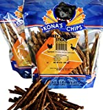 KONA'S CHIPS 2 Pack Turkey and Duck Sticks 8 oz Crunchy Sticks Made in The USA Only. All Natural Dog Treat, Chemical and Grain Free. Healthy & Safe Treat for Your Dog For Sale