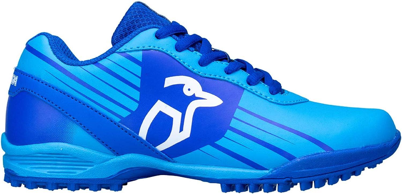 Color Azul Kookaburra Zapatillas de Hockey de ne/ón Unisex para j/óvenes
