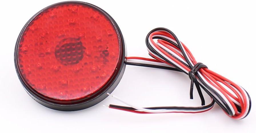 For 2008-2010 Toyota Highlander Smoked Lens LED Rear Bumper Stop Brake Light