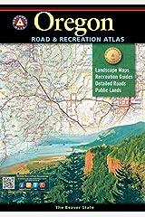 Oregon Benchmark Road & Recreation Atlas Paperback