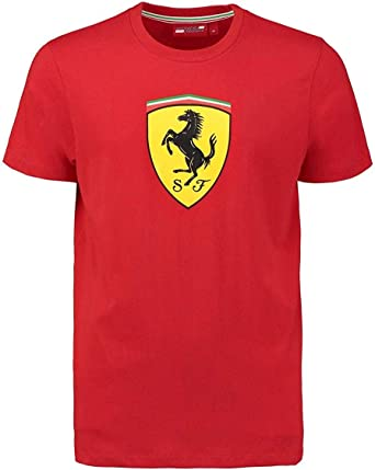 Ferrari Classic – Camiseta para hombre, color rojo, XS: Amazon.es: Ropa y accesorios