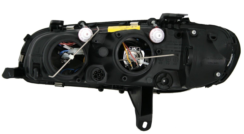 KG DEPO Scheinwerfer Set Klarglas Chrom Halogen H1 H7 f/ür LWR Links rechts AD Tuning GmbH /& Co