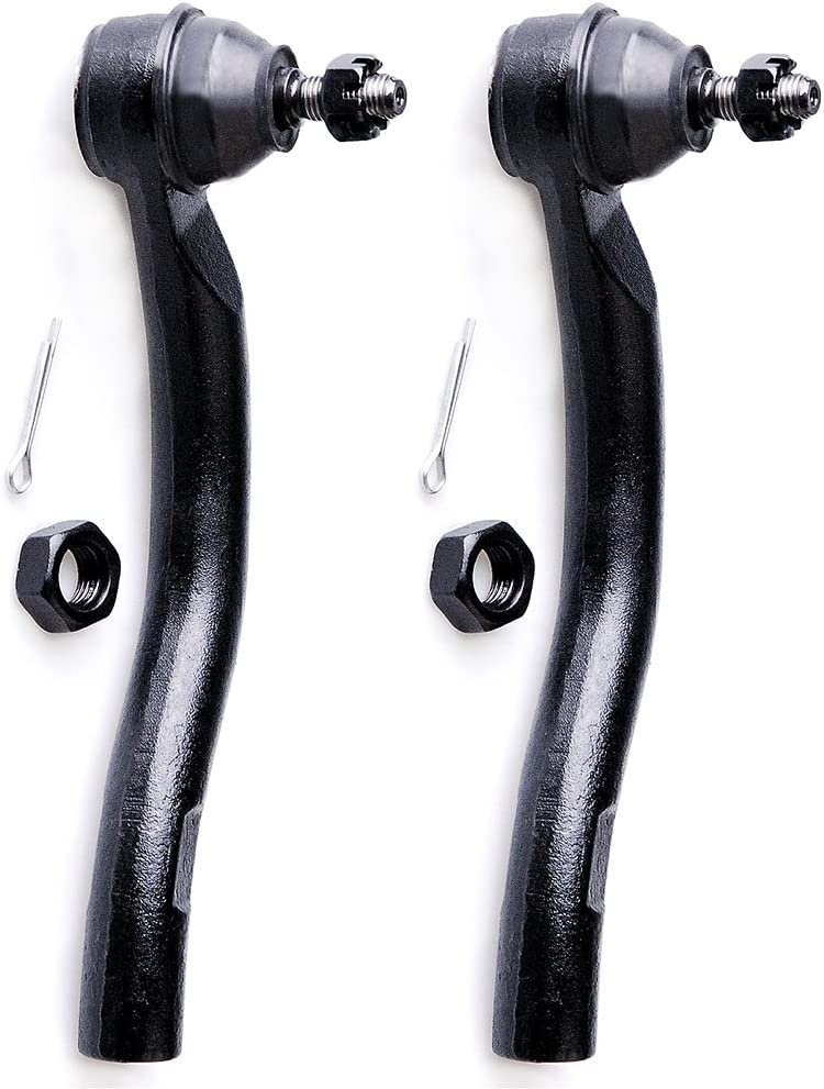 INEEDUP NEW Pair Set of Front Outer Tie Rod End Compatible for Acura TSX 2008 Acura TSX 2004 2005 2006 Honda Accord 2004 2005 2006 2007