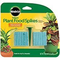 48 Count Miracle-Gro Indoor Plant Food Spikes