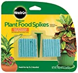 #2: Miracle-Gro Indoor Plant Food, 48-Spikes