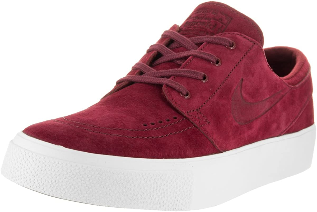 Mediana productos quimicos salado  Amazon.com | Nike Men's Zoom Stefan Janoski Premium Team Red/White  Ankle-High Leather Skateboarding Shoe - 10M | Basketball