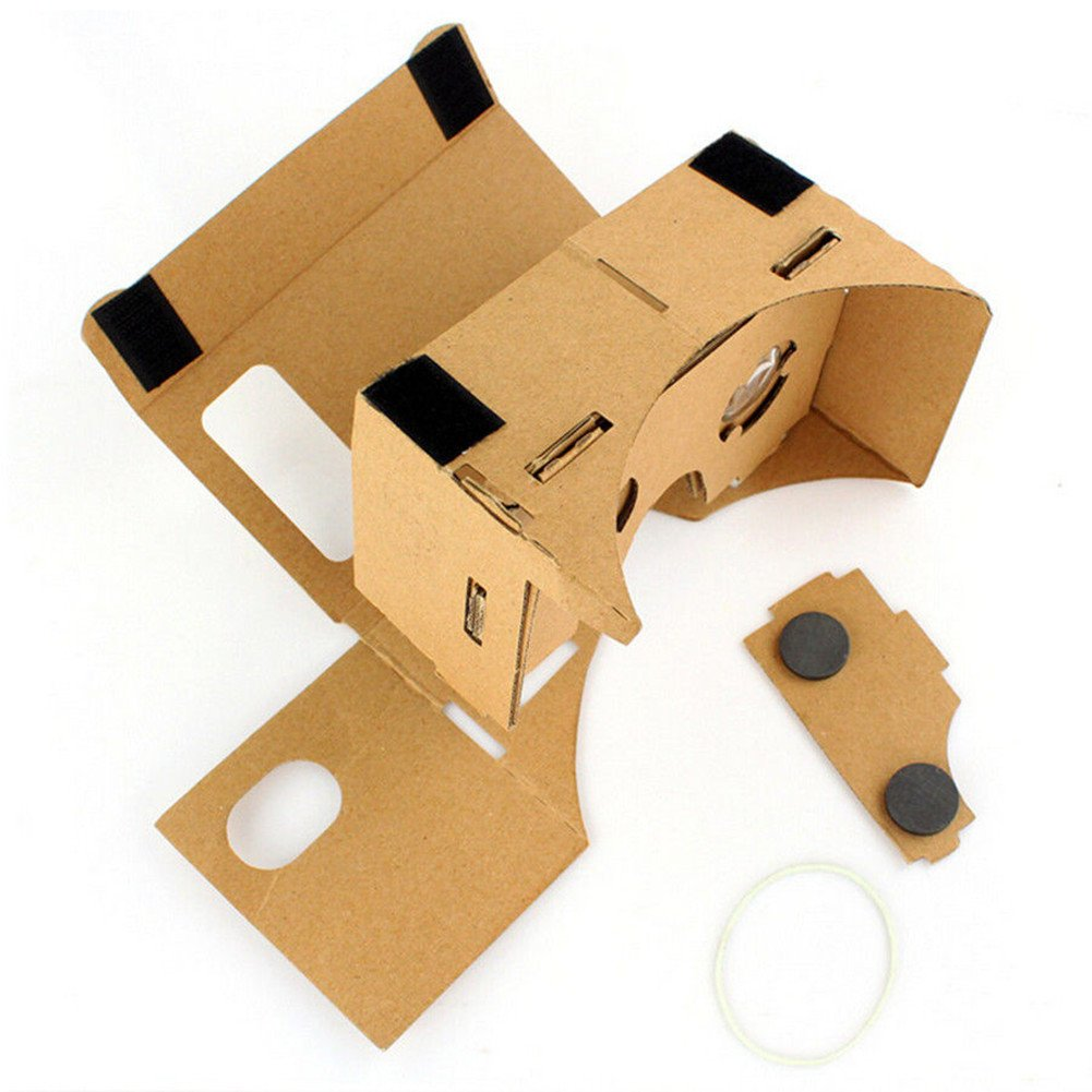 oyvind norberg DIY cartón Ultra Clear Calidad 3d vr Virtual Reality Valencia vasos para Google Nexus 4/5, Samsung XN: Amazon.es: Electrónica