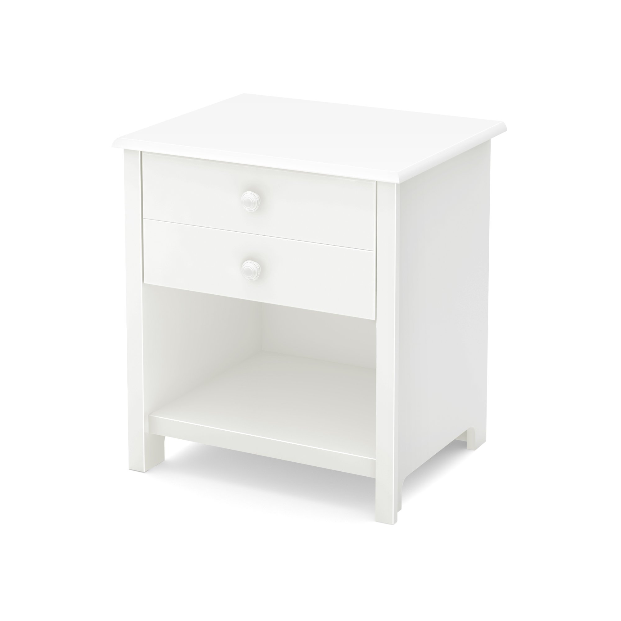 South Shore Little Smileys 1-Drawer Nightstand, Pure White