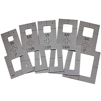 plasma stencil square cutter guide 5 pc kit 430 amazon com