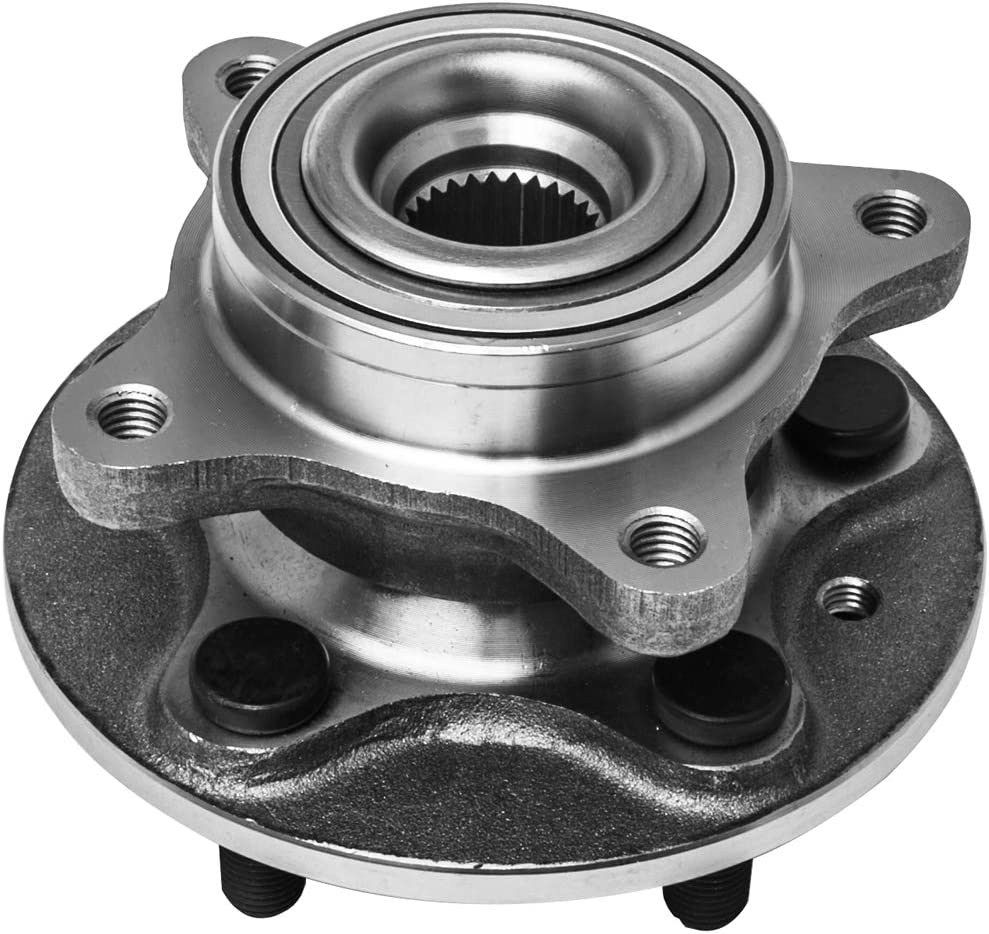 Front Wheel Hub and Bearing Assembly Left or Right Compatible With LR3 LR4 Range Rover Sport AUQDD 515067 [ 5 Lug Hub ]