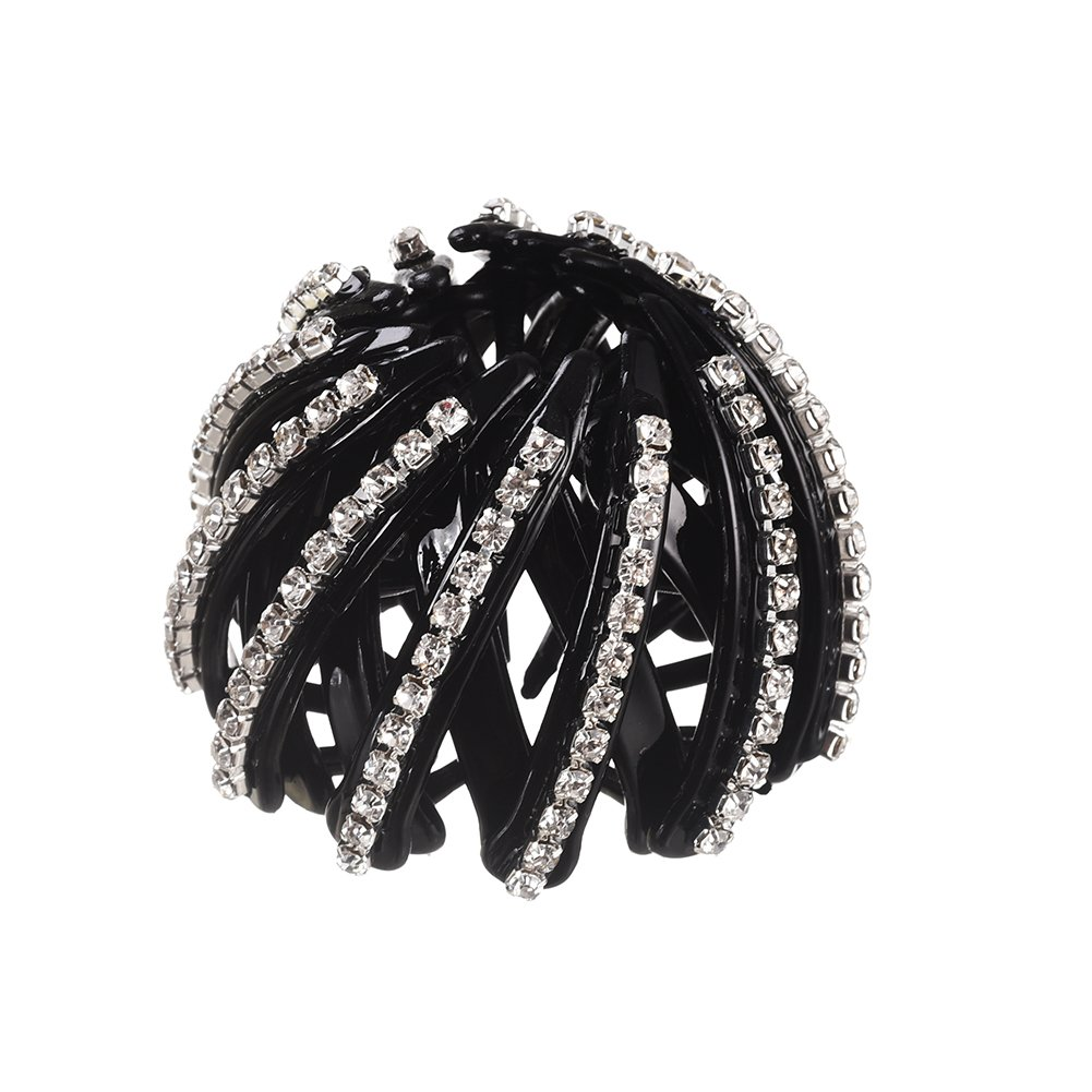 MISM Women Hair Bud Clips Pearl Hair Decor Styling Accessory (0108 D)