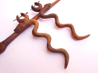 Amazon Com Ethnic Arts India Women S Wooden Craft Carving Design