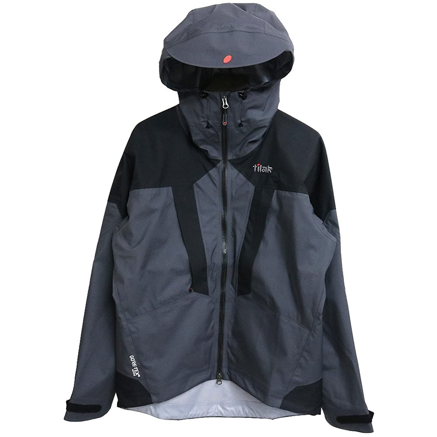 (ティラック) Tilak『STINGER JACKET』(Ebony Grey/Caviar Black)【日本正規取扱店】 B077BZNZND  Ebony Grey/Caviar Black M
