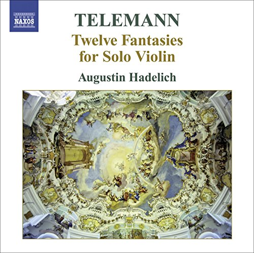 Telemann, G.P.: 12 Fantasies for Solitary Violin