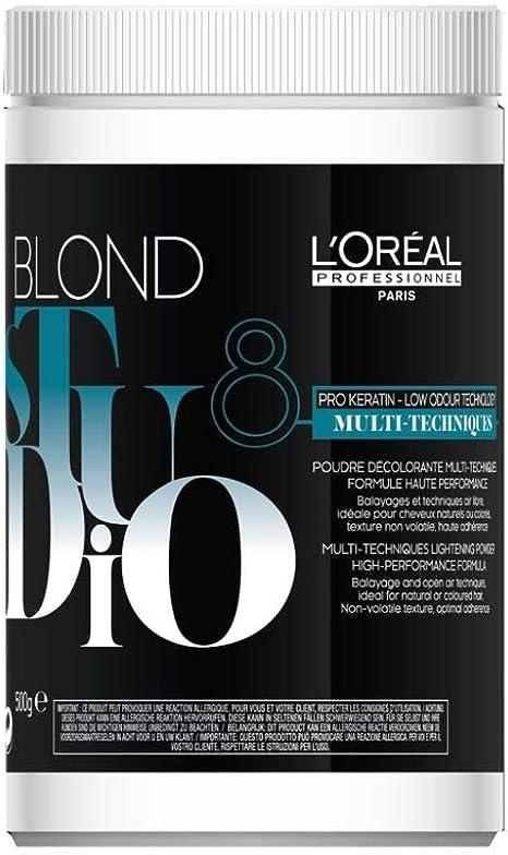 LOréal-Blond Studio Multi Tech Polvo decolorante 500 Grs ...
