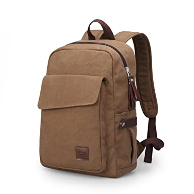Mens backpacks fashion backpack Japan and South Korea casual canvas bag School bags wind middle school