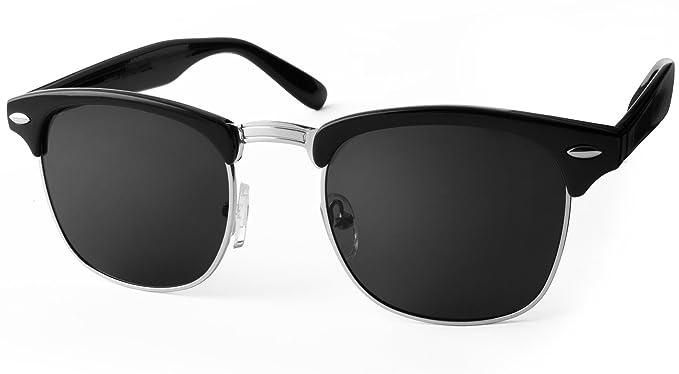 UVprotect® Clubmaster - Gafas de sol de imitación de cuerno ...