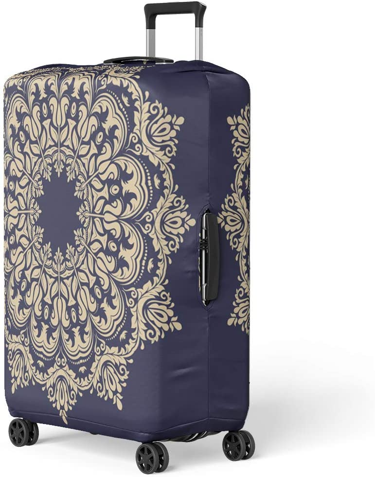 Pinbeam Luggage Cover Pattern Flock of Flying Birds Swarm Aerial Air Travel Suitcase Cover Protector Baggage Case Fits 22-24 inches