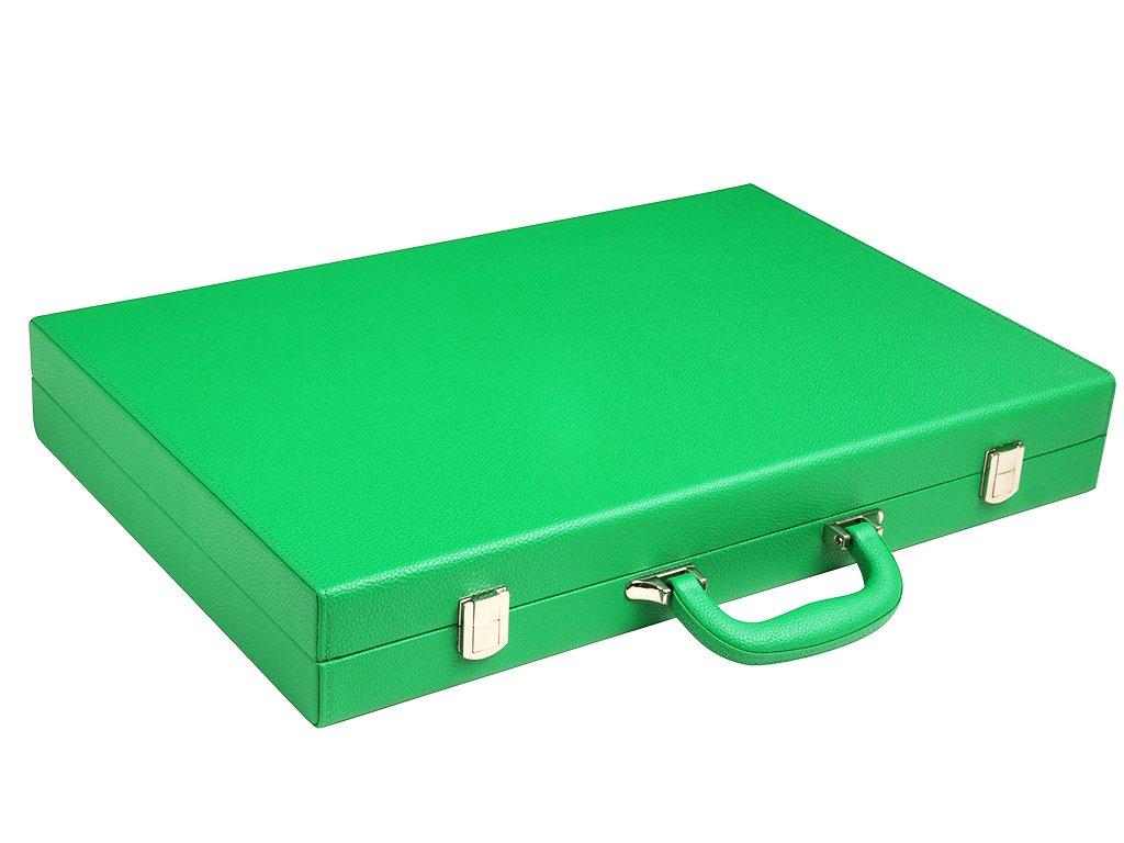 Ensemble de Backgammon Premium de 48 x 64 cm Vert