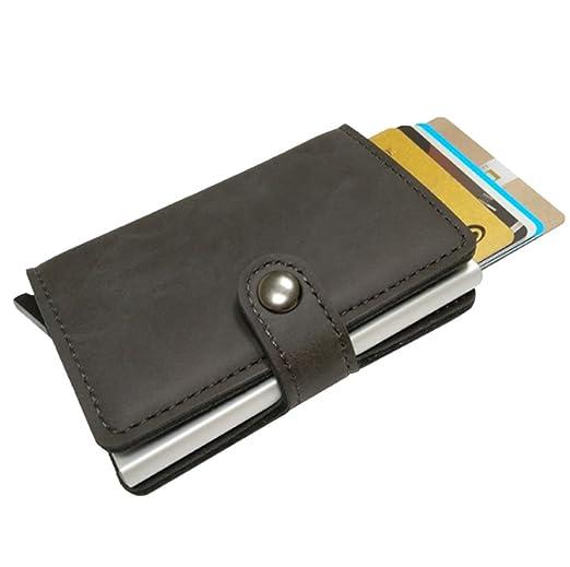 96877f38a9b4 Coiol RFID Blocking Wallet Front Pocket Wallet Minimalist Secure ...