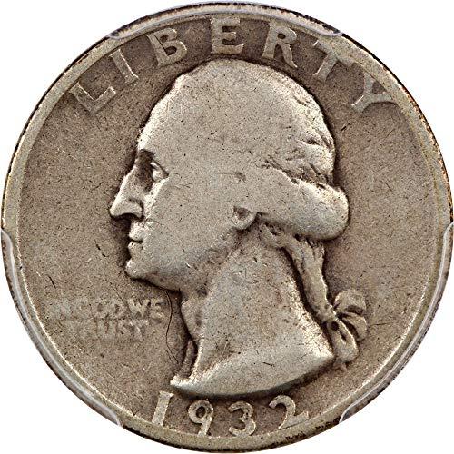 1932 S Washington Quarters (1932-98) Quarter Good-6 PCGS