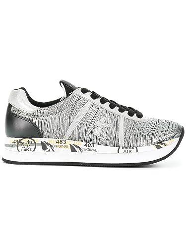Damen Sneaker, Silber - Silber - Größe: 37 EU Frau
