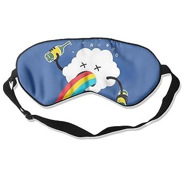 Cómodo antifaz para dormir con diseño de nube arcoíris para ...
