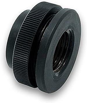 EKWB EK-AF G1//4 Pass-Through Fitting Black