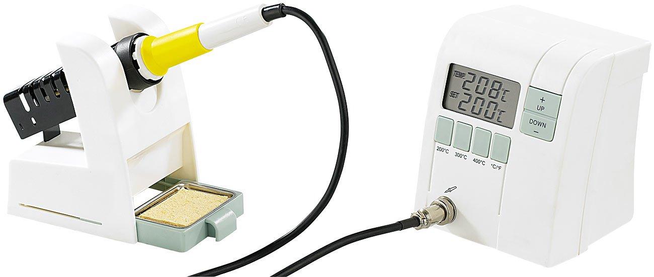 AGT premium-estación de soldadura electrónica con termómetro-control: Amazon.es: Industria, empresas y ciencia