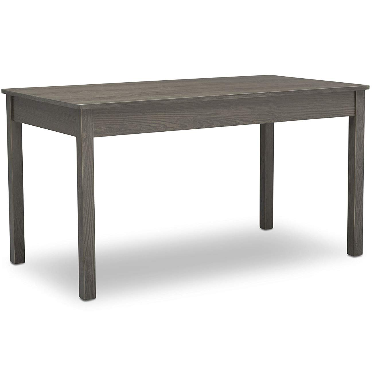 Kids Play Table | Grow with Me Convertible Desk | Delta Children | Crafted Grey by Delta Children