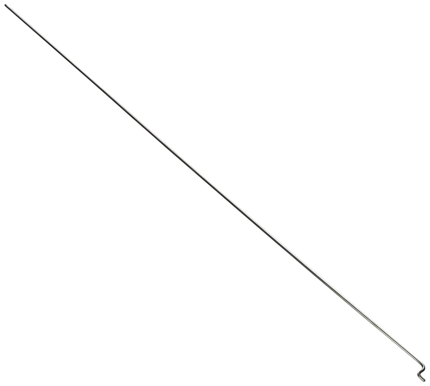 1.5mm Diameter 330mm Long Stainless Steel Push Rods for RC Model Boat Sourcingmap a14061600ux0195