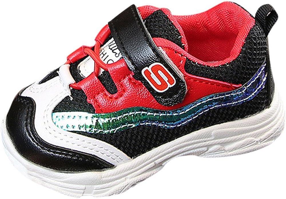 Familizo Zapatillas Bebé Niños niñas Malla Zapatillas Deportivas de Estilo Deportivo para Correr Zapatos Bebe Niña Suela Blanda Antideslizante Amarillas: Amazon.es: Zapatos y complementos