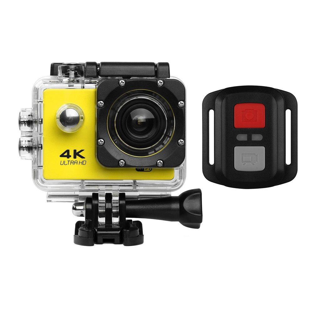 UGI Action Camera HD 720P/1080P/4K Sports Cam - HD WiFi Underwater Camera Diving Waterproof Action Camcorder with Accessories for Kids,Snorkeling,Motorcycle,Bike,Helmet,Car,Ski and Water Sports