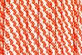 BoredParacord Brand Paracord/Parachute Cord 7-Strand, 550 Lb. Break Strength Guaranteed U.S. Made, Type III - Candy Cane (50 feet)