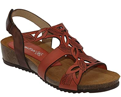 532547fcda81 XAPATAN Women s Fashion Sandals Orange Size  8 UK  Amazon.co.uk ...